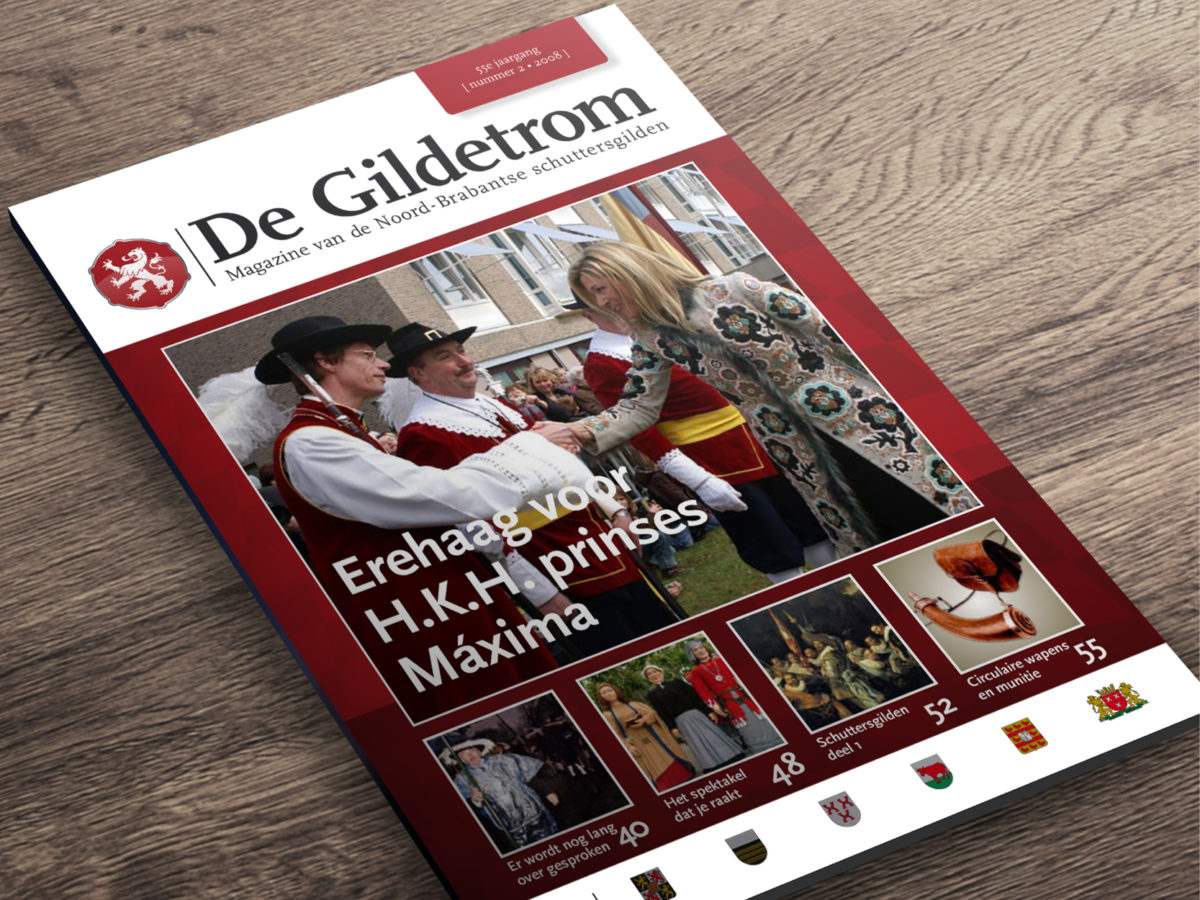 magazine opmaak de Gildetrom olafs.nl