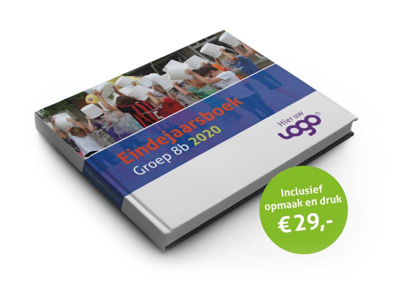 jaarboek groep 8 schoolverlater